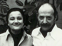 Anne and Jacques Baruch 1978